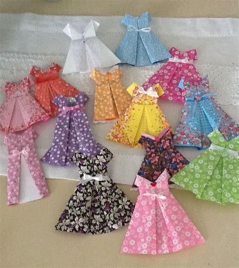 Paper Dress Origami - paper dresses origami create