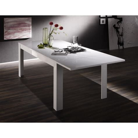 Table Salle A Manger Design Blanc Laque by Table De Salle 224 Manger Design Laqu 233 Blanc Judy Matelpro
