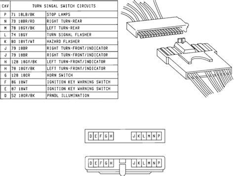 yj turn signal switch wiring diagram turn free printable