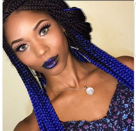 47 best images about Ombre Box Braids on Pinterest   Ghana