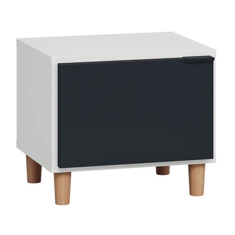 Simple Black Nightstand Contemporary Simple Nightstand Vox Furniture South Africa