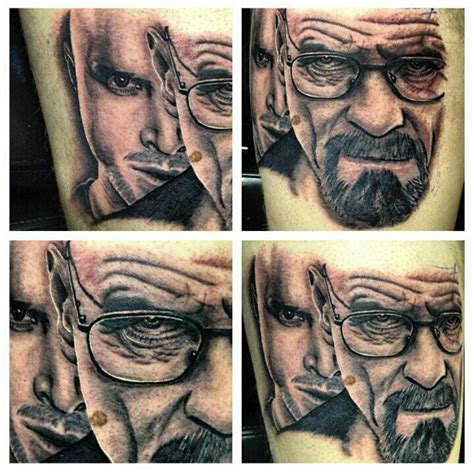 my breaking bad tattoo by trurosrvboi on deviantart