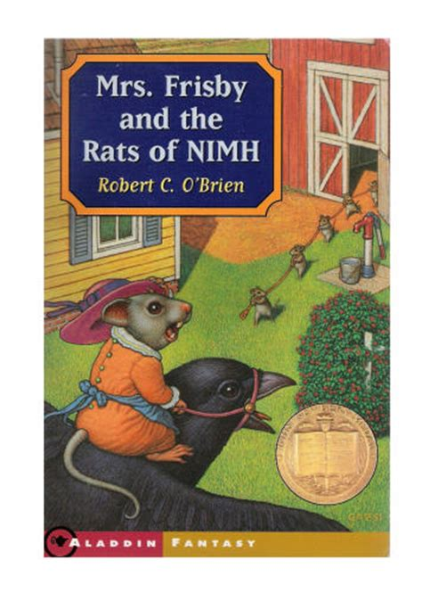 the secret of mrs books book vs mrs frisby and the rats of nimh vs the