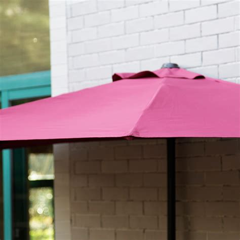 corner patio umbrella 10 ft half outdoor patio umbrella
