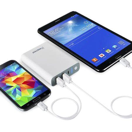 Charger Bb Samsung 2 1 A insten dual usb port 10400mah power bank external battery
