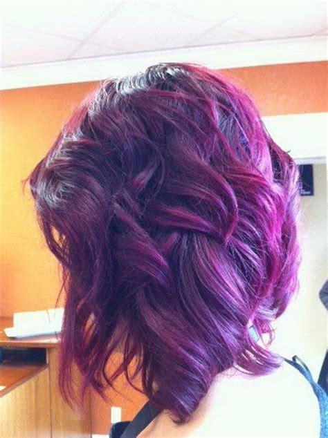 black hairstyles purple black and purple hairstyles