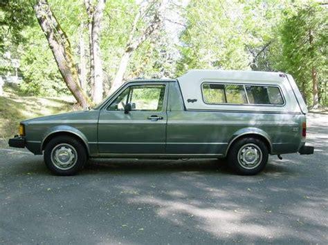 1981 volkswagen rabbit truck find used 1981 volkswagen rabbit caddy pickup diesel only