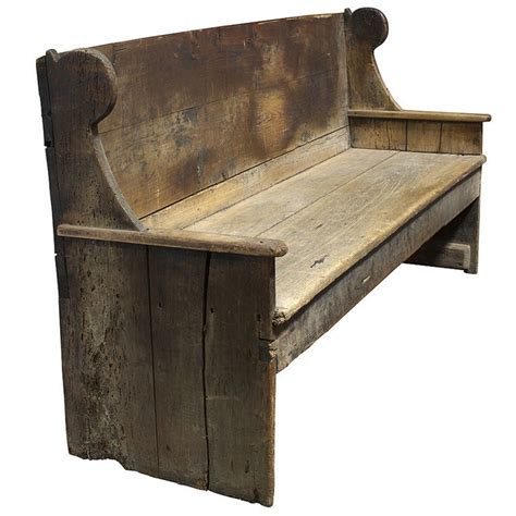 18th century primitive bench at primitive 18th century wood bench settles and benches pinterest