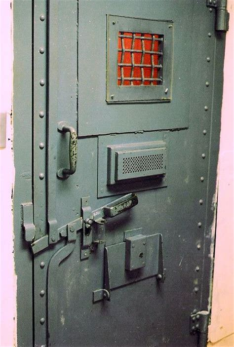 Cell Door by Prison Cell Door Type Of Cell Door Used In High Security