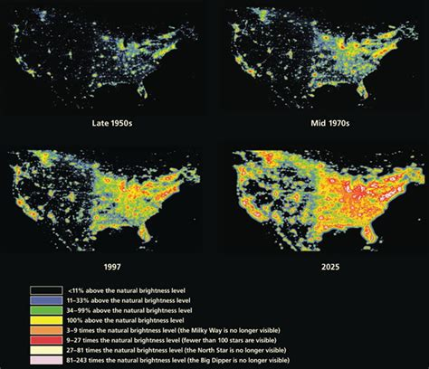 World Light Map by Wordlesstech Map Of Global Light Pollution