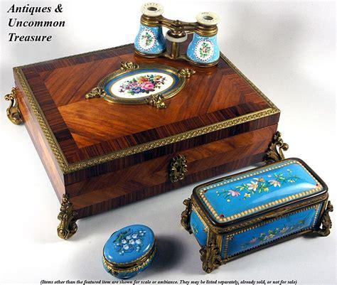 kiln for jewelry antique kiln fired enamel jewelry casket box etui