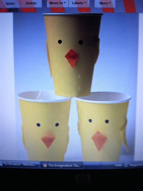 Paper Cup Craft Ideas - 58 best crafts paper cup crafts images on
