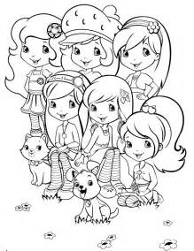 Strawberry Shortcake Coloring Pages Az Coloring Pages