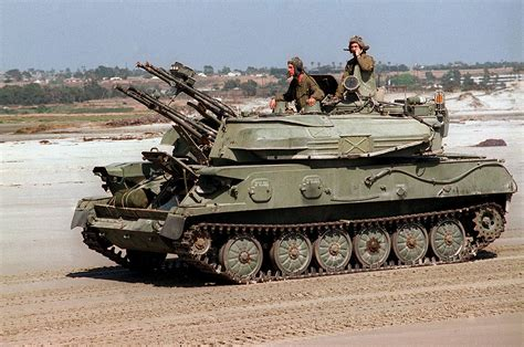 Anti Air self propelled anti aircraft weapon