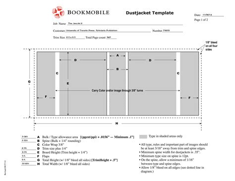 book jacket layout templates print positive sizing a dust jacket bookmobile