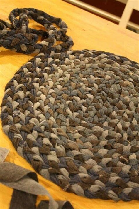 denim braided rug braided rug projects to try braided rug rugs and