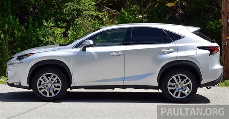 driven lexus nx 200t suv tested in columbia image