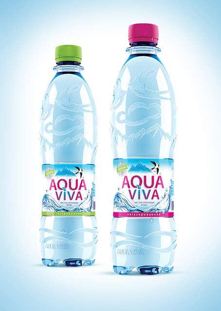 Water Viva aqua viva on packaging of the world creative package