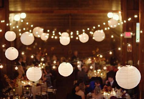 Large White Paper Lantern String Lights Realrun Home Paper String Lights