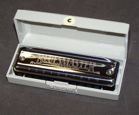 Harmonica Suzuki Harmonica Diatonique Suzuki Blues Master Do C Neuf
