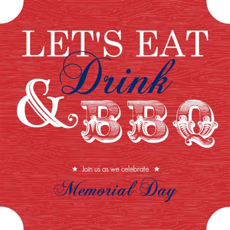 fresh memorial invitation templates free or memorial day party