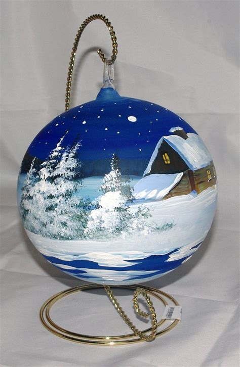 best 20 painted ornaments ideas on pinterest