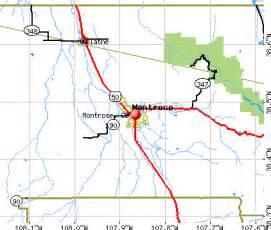 map of montrose colorado montrose colorado co 81401 profile population maps