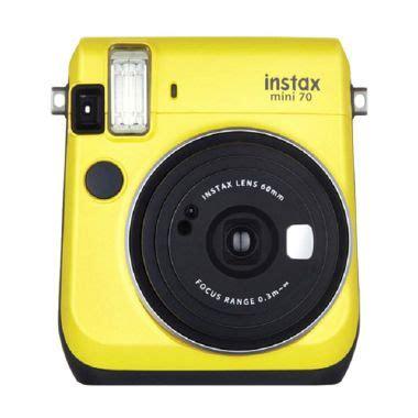 Kamera Fujifilm Instax Mini 70 jual fujifilm instax mini 70 yellow kamera polaroid harga kualitas terjamin blibli