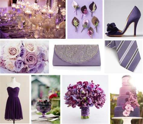 eggplant wedding inspiration