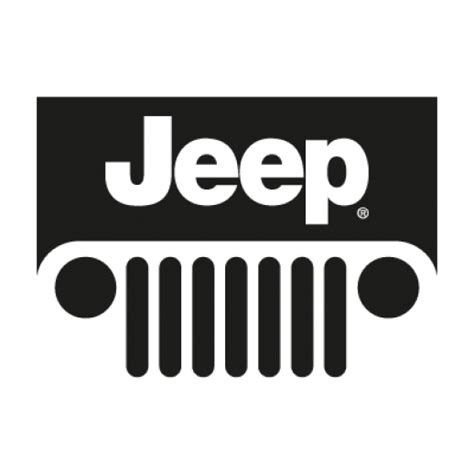 jeep wrangler logo transparent jeep new logo vector ai free graphics download