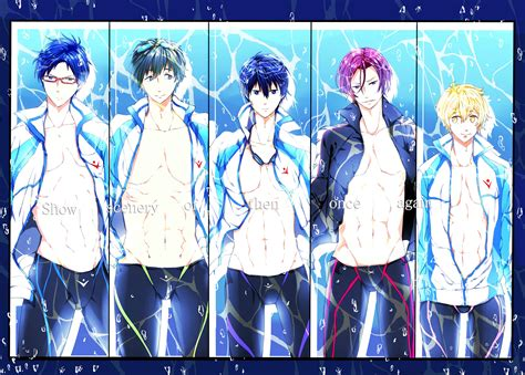 anime video online free swimming kyoto animation image 1542362