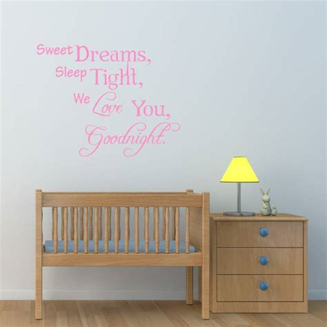 sweet dreams wall stickers sweet dreams wall sticker by mirrorin notonthehighstreet