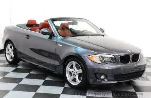 Bmw 128i Convertible 2013 Used Bmw 1 Series Certified 128i Convertible Tech