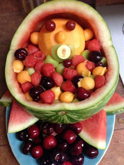 Fruit Tray For Baby Shower by Baby Shower Fruit Platter Food