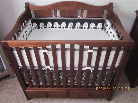 Custom Made Crib by Handmade Mahogany Crib By Noble Brothers Custom Furniture