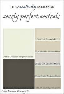 is black a neutral color transitional paint color palette color palette monday 3