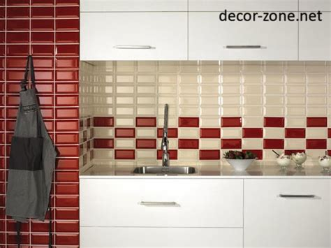 Red Kitchen Backsplash by Red Backsplash Tile Myideasbedroom Com