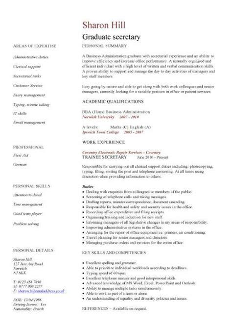 Graduate CV template, student jobs, graduate jobs, career