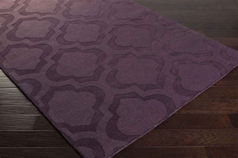 purple rugs artistic weavers central park kate awhp4013 purple area rug