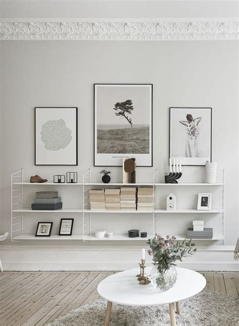 home interior shelves decordots interior inspiration string shelves