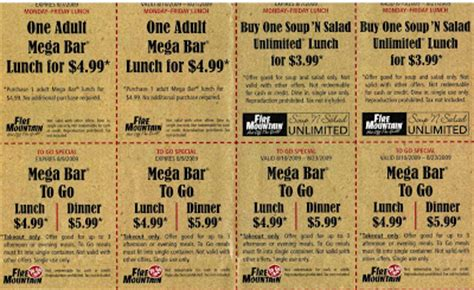 Free Coupons Online Fire Mountain Coupon Mountain Buffet Coupons