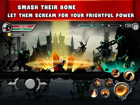 mod game apk new stickman legends ninja warriors shadow war mod apk v2 3