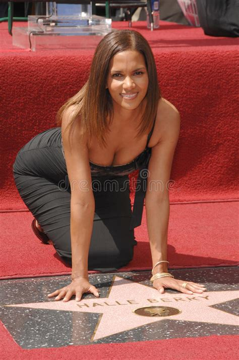 Halle Berry Gets Blvd by Halle Berry Editorial Photography Image Of Boulevard