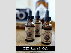 DIY Beard Oil {Gifts for Him}–Free Printable Label ... Manly Gifts For Him