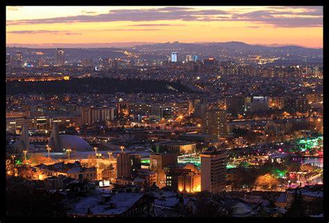 ankara night  photo  ankara central anatolia trekearth