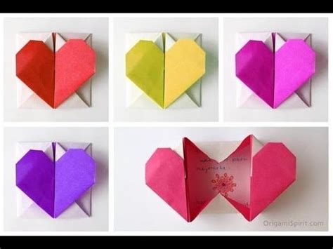 tutorial origami corazon m 225 s de 25 ideas incre 237 bles sobre corazon en origami en