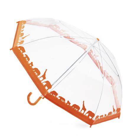 Animal Pattern Umbrella | childrens kids boys girls jungle animal pattern dome rain
