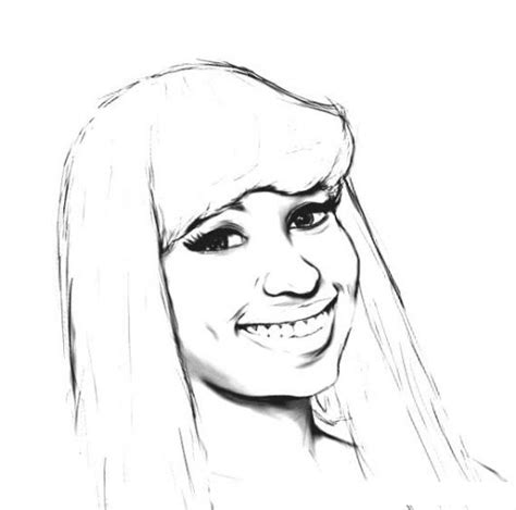 nicki minaj coloring pages coloring pages
