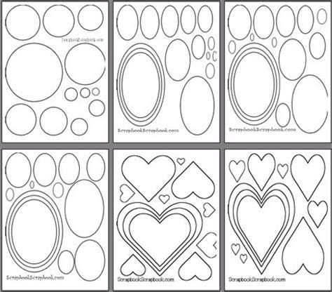 free scrapbook templates to print free printable scrapbooking templates scrapbooking