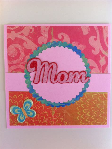 homemade mothers day card homemade mothers day greeting card ideas family holiday